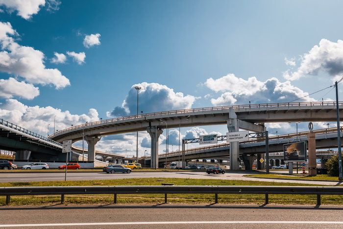 КАД с Пулковским шоссе